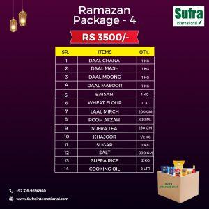 Sufra Ramazan Package # 4