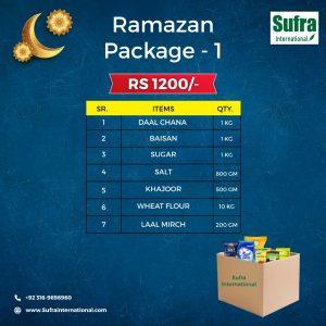 Sufra Ramazan Package # 1